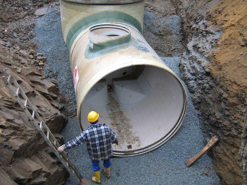 Abwasserentsorgung